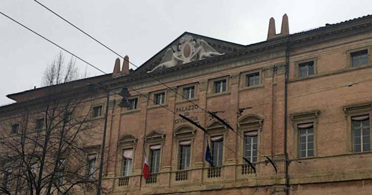 Palazzo Ruini, sede della Corte d'Appello di Bologna. Qui si terrà il secondo grado del processo contro l'ex amministratore della Cemental