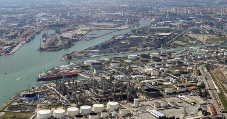 Vista del Sito di Interesse Nazionale di Porto Marghera