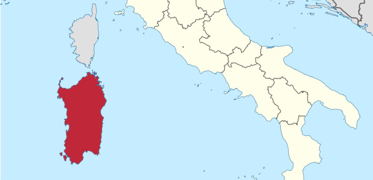 Infografica su Mappa. I Siti di Interesse Nazionale della Sardegna