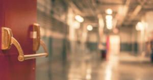 Entrata di un ospedale. Novità sulla cura del mesotelioma da ASCO 2020
