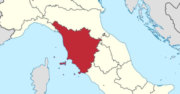 Mappa gografica della Toscana. Bonifiche amianto in Toscana. Oltre 10 milioni di finanziamenti per scuole ed ospedali