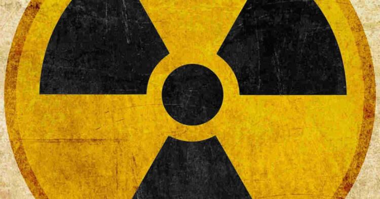 Simbolo pericolo radiazioni ionizzanti