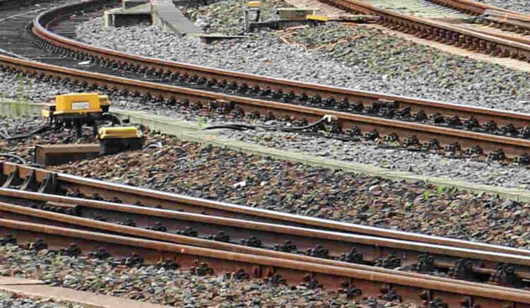 Binari di un nodo ferroviario