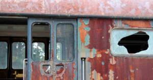 Vecchia carrozza ferroviaria