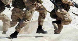 Militari in azione