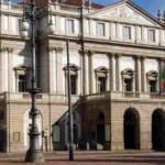 facciata del Teatro alla Scala a Milano